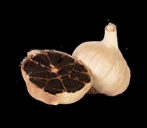 El ajo negro realizado con el producto de la IGP Ajo Morado de Las Pedroñeras, protagonista en la cocina de Jesús Segura