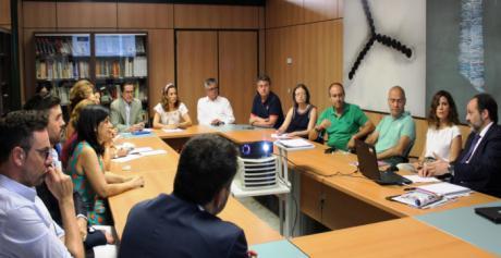 Rosa González de la Aleja anima a los empresarios albaceteños a participar en la III Feria IMEX Castilla-La Mancha que por primera vez acogerá Albacete los días 17 y 18 de octubre