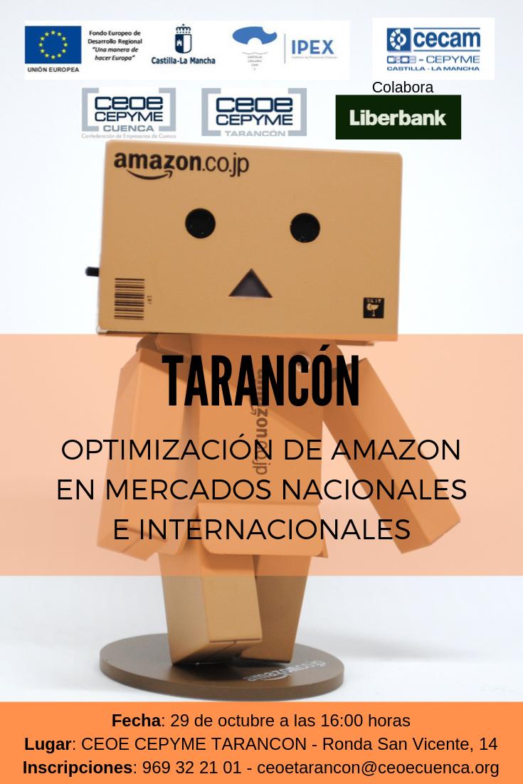 CEOE CEPYME Tarancón celebra este martes una jornada sobre Amazon y mercados internacionales