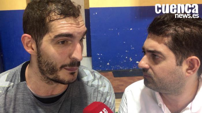 Video | Ángel Montoro valora el encuentro entre el Quabit Guadalajara - Liberbank Cuenca