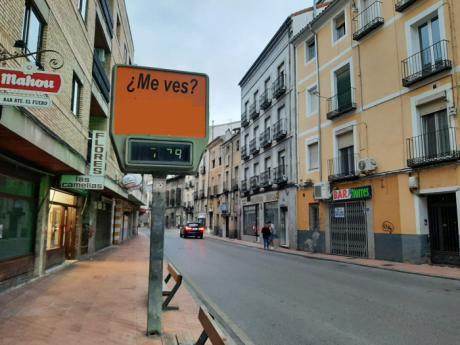 Cuenca en Marcha pide retirar los relojes-termómetro de la ciudad por falta de mantenimiento