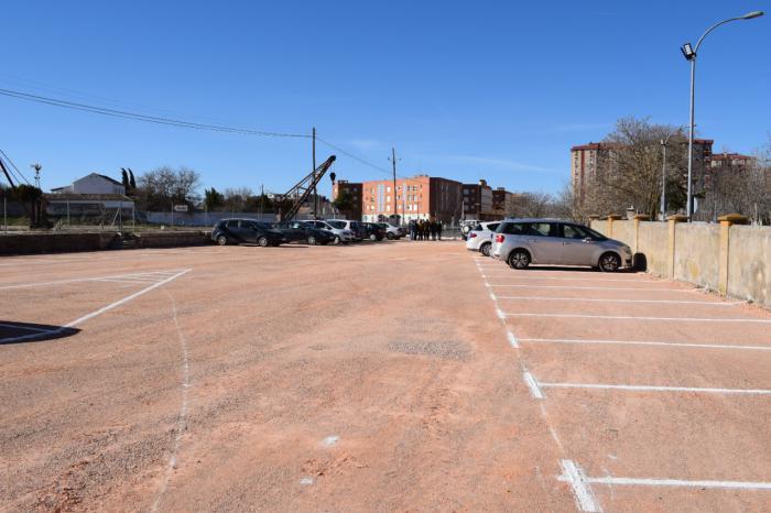 Tarancón estrena un nuevo aparcamiento público dotado con 67 plazas