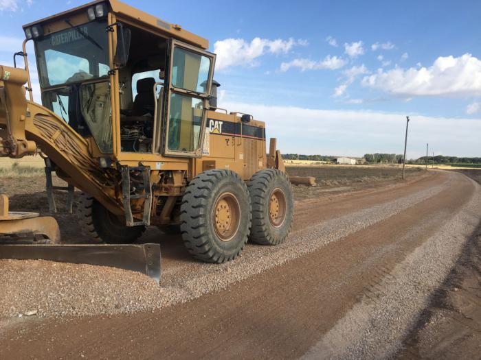 El Ayuntamiento de Mota arregla más de 9 kilómetros de caminos agrícolas