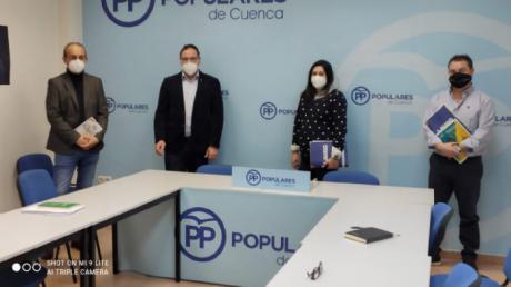 AUGC Cuenca se reúne con el PP conquense