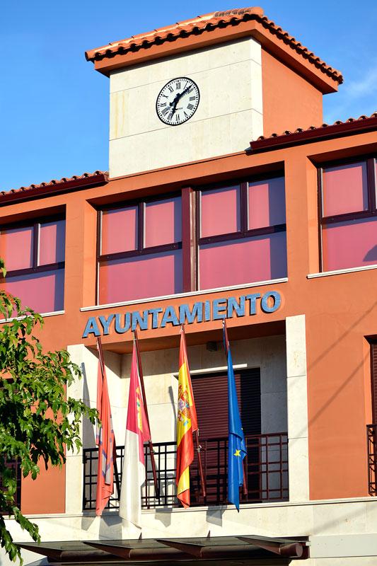En imagen el ayuntamiento de Villar de Olalla