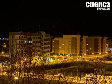 Cuenca aplaude a los sanitarios a las 22:00 horas desde las ventanas