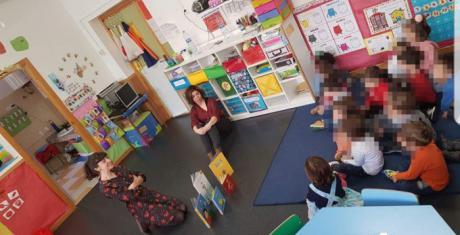 La Escuela Infantil Balú trabaja intensamente en las actividades por el Día del Libro