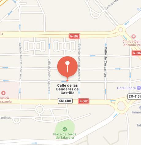 Fallece un hombre en Talavera al precipitarse a la calle desde un balcón