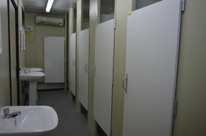En marcha la primera fase de las obras de arreglo de los baños del Colegio Público Virgen de Manjavacas