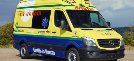 Trasladado grave al hospital un trabajador de la cooperativa de ajos de San Isidro Santo tras caer desde 6 metros de altura