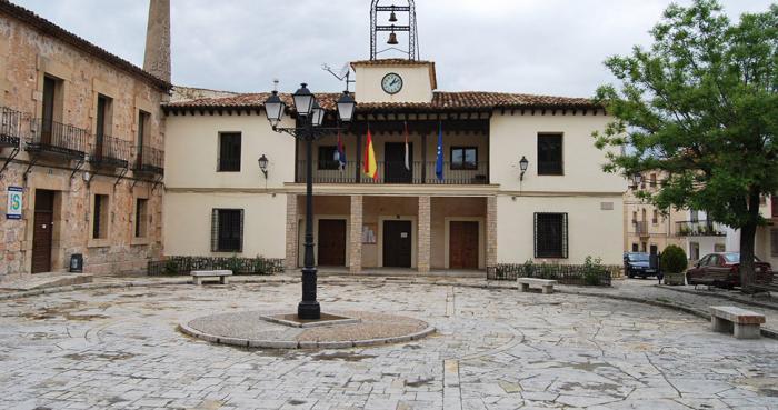 Fachada del Ayuntamiento de Beteta