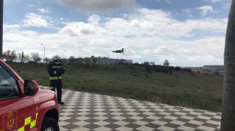 Un dron sobrevuela la capital para hacer cumplir el confinamiento a los conquenses