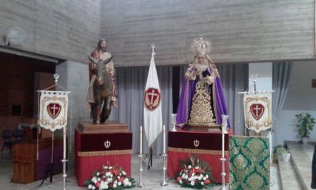 La V. H. de Jesús entrando en Jerusalén aprueba cambiar su sede canónica de Santa Ana a El Salvador