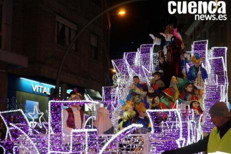 La Cabalgata de los Reyes Magos contará con 11 carrozas para llenar de magia navideña la ciudad