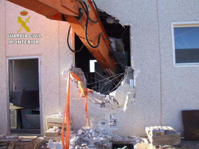 La Guardia Civil investiga a una persona por dos robos de cable de cobre