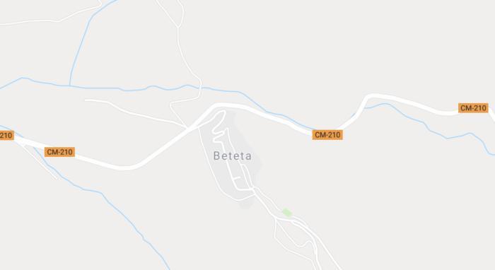 Rescatan a un camionero que quedó colgado de un precipicio en Beteta