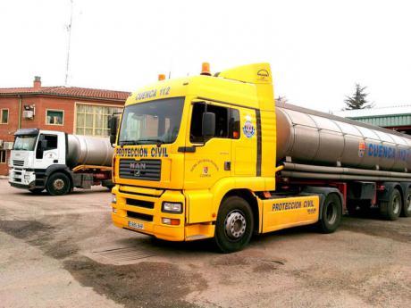 Poveda de la Obispalía ha recibido 340.000 litros de agua de camiones cisterna en la que va de verano