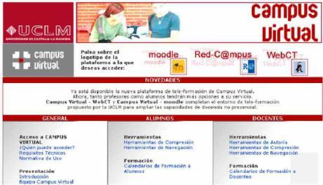 La UCLM restablecerá mañana Campus Virtual, el correo institucional y otros servicios de soporte a docencia