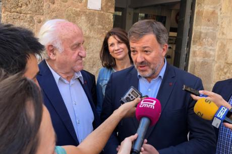 García-Page y Dolz mantendrán el lunes una reunión con la UNESCO para tratar el proyecto de accesibilidad al Casco Antiguo