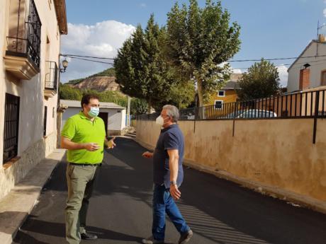 Concluida la renovación de la travesía de Caracenilla en Huete