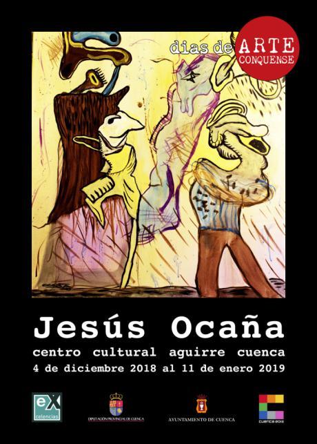 """Jesús Ocaña llega a """"días de ARTE conquense"""""""