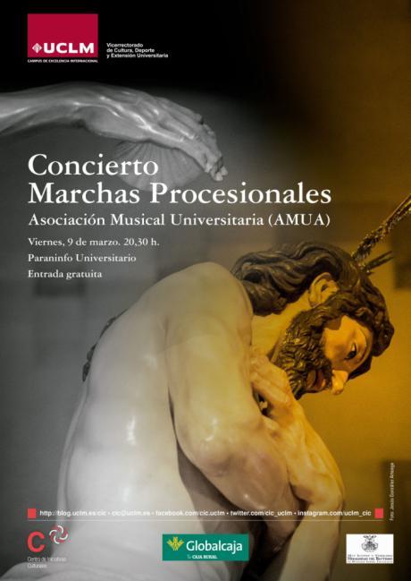 Concierto de Marchas Procesionales y la exposición Objetivo Nazareno, agenda de la UCLM para la Semana Santa 2018