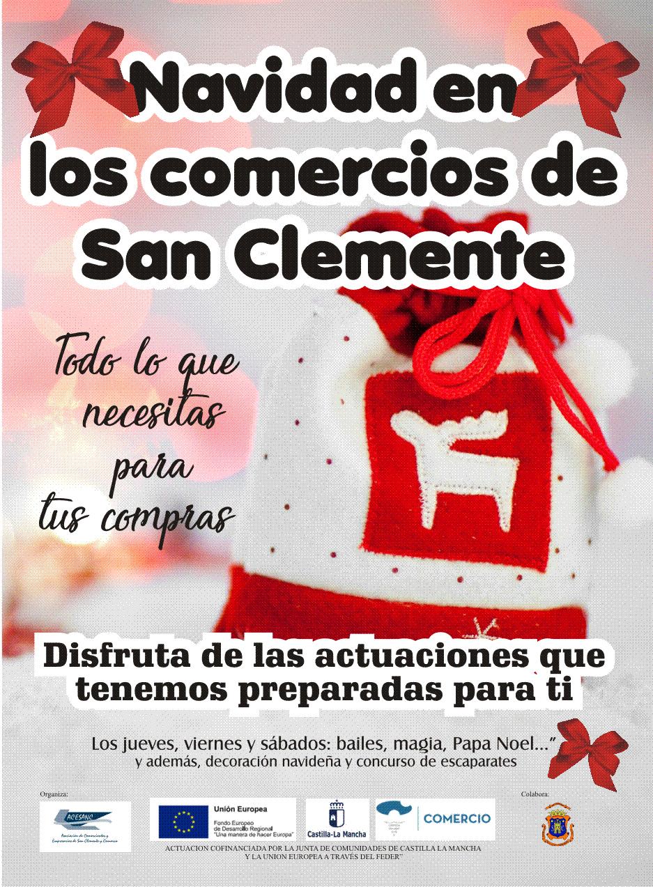 Los comercios de San Clemente promueven actuaciones para dinamizar el sector por navidad