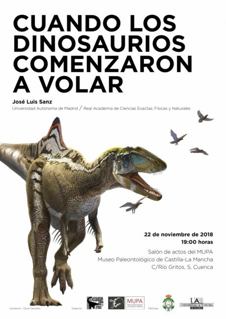 El Museo de Paleontología pone fin a la Semana de la Ciencia con una conferencia sobre los dinosaurios voladores