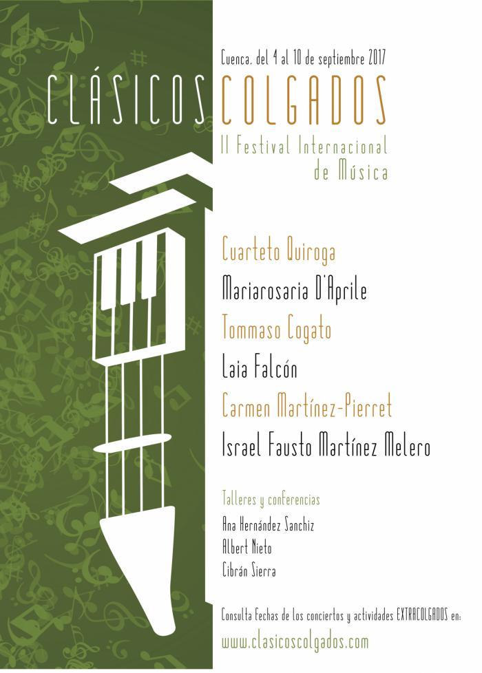 Cuenca se volverá a colgar de la clásica del 4 al 10 de Septiembre de 2017