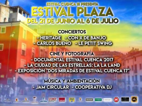 Estival Plaza: nueve espectáculos gratuitos en pleno Casco Antiguo de Cuenca