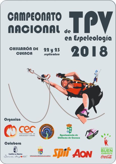 Chillarón alberga este fin de semana el I Trofeo Diputación de Cuenca de Técnica de Progresión Vertical en Espeleología 2018