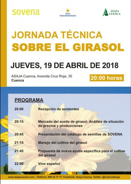ASAJA organiza una jornada técnica sobre el cultivo del girasol