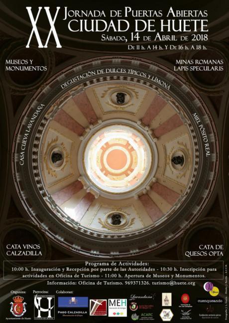 XX edición de la Jornada de Puertas Abiertas de la Ciudad de Huete