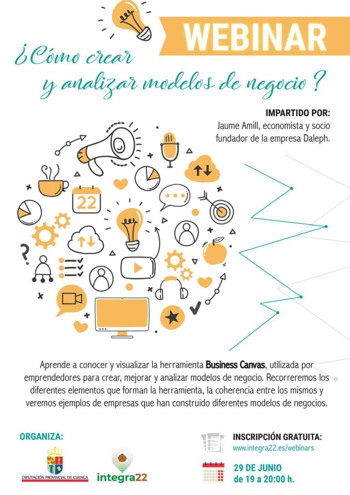 La Diputación realizará una formación online para analizar modelos de negocio en la provincia