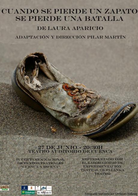 Desde el lunes se podrán adquirir entradas de la obra 'Cuando se pierde un zapato se pierde una batalla'