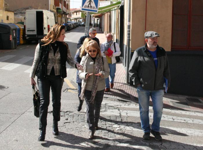 El grupo municipal de ciudadanos Cuenca visita el barrio de Casablanca junto a sus vecinos