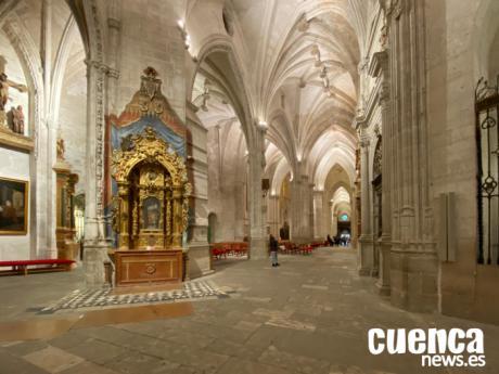 Puesta en marcha del proyecto de limpieza y conservación de obras de arte de la Catedral de Cuenca