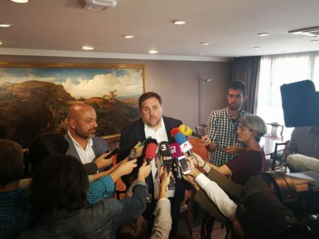 García Molina condena la 'vía represiva' contra Cataluña y defiende el diálogo