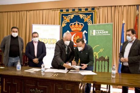 El Director General de Desarrollo Rural de Castilla-La Mancha ensalza el trabajo de CEDER Alcarria Conquense