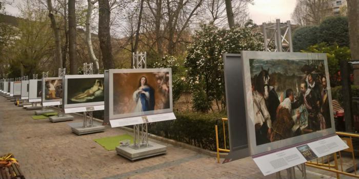 """La exposición """"El Prado en las calles"""" se inaugura este miércoles en el parque de San Julián"""