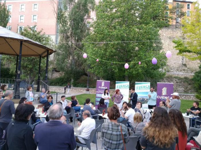 Cuenca, En Marcha! cierra la campaña con el compromiso de defender las propuestas de la gente