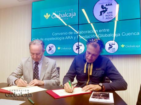 El Club ARA y la Fundación Globalcaja Cuenca suscriben un convenio de colaboración