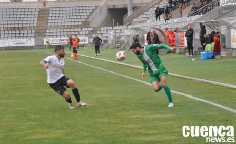 Al Conquense solo le faltó el gol para doblegar al Cornellá (0-0)