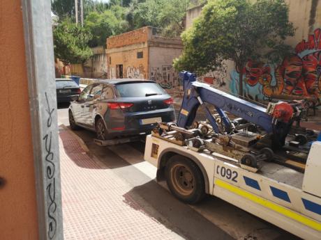 Los Agentes de Movilidad recuperan un vehículo que había sido denunciado por sustracción en Jerez de la Frontera