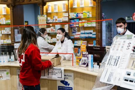 Las farmacias están realizando entrega de medicamentos a domicilio a los pacientes más vulnerables en Castilla-La Mancha