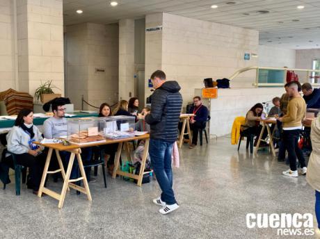 La participación en Cuenca baja un 4,22 % respecto a las elecciones de abril
