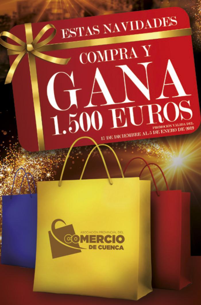 La Asociación de Comercio premiará con 1.500 euros al ganador de su campaña compra y gana