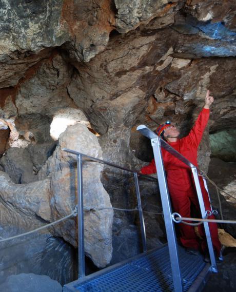 Reabre al público la mina romana de lapis specularis 'La Condenada' de Osa de la Vega con lista de espera y grupos reservados