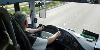 """Campaña informativa de CCOO, """"la fatiga mata"""" entre los conductores profesionales de la provincia"""