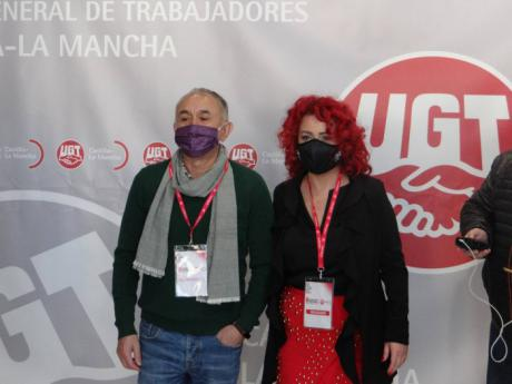 Olga Arribas, elegida nueva secretaria general de UGT Castilla-La Mancha